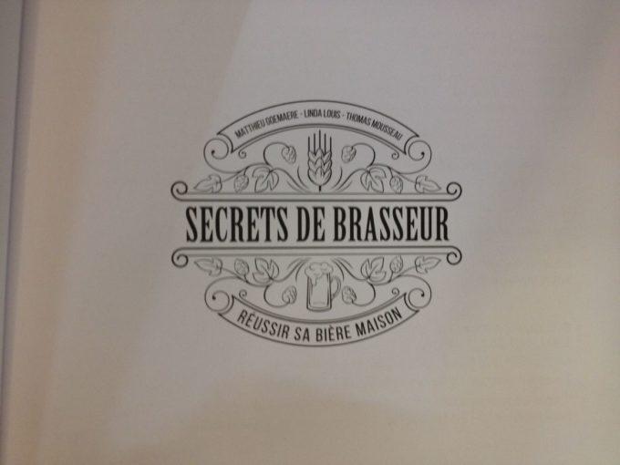 Image de couverture secrets de brasseurs livre de brassage pour débutant