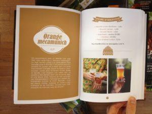 Page de présentation de recette de bière secrets de brasseurs livre de brassage pour débutant
