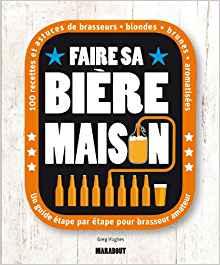Couveture Livre de Brassage Faire sa Bière Maison Cadeau Débutant